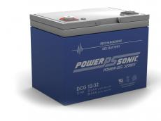 Power-Sonic Deep Cycle Gel 12V 32AH