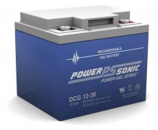 Power-Sonic Deep Cycle Gel 12V 38AH